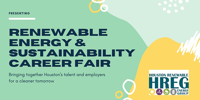 Renewable Energy & Sustainability Career Fair 2021, Hosted by HREG @ Online Event