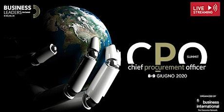 CPO Summit 2020 biglietti