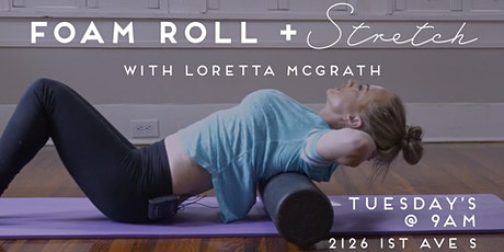 Foam Roll and Stretch Class tickets
