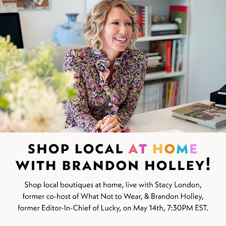 Shop Local Boutiques at Home with Stacy London from What Not to Wear image