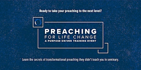 2020 Preaching for Life Change Conference tickets