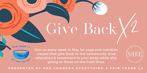 Give Back x 2: A Virtual Yoga Series