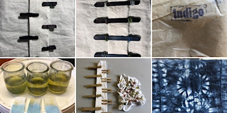 Set up your Indigo Fructose vat and learn  Shibori online zoom workshop tickets