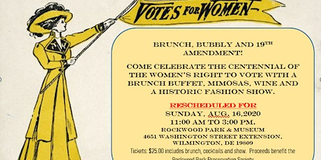 Brunch, Bubbly and Votes for Women! tickets