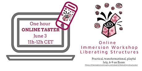 Liberating Structures Immersion Workshop Leiden - Free Online Taster #3 tickets
