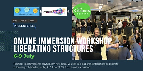 Liberating Structures immersion workshop ONLINE 400 € - 550 € + VAT tickets