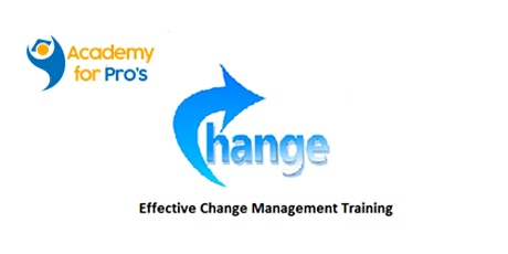 Effective Change Management 1 Day Virtual Live Training in Canberra tickets