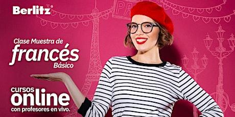 Clase GRATIS! - De Francés Básico OnLine boletos