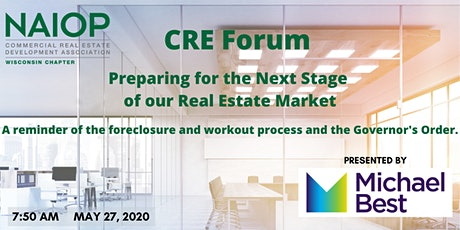 CRE Forum: Preparing for the Next Stage of our Real Estate Market tickets