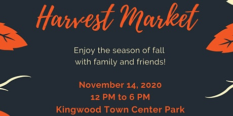 Harvest Market tickets