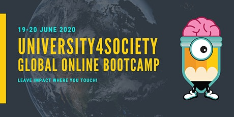 University4Society Global Online Bootcamp 2020 tickets