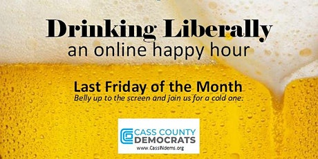Drinking Liberally, An Online Happy Hour with Jonathan Weinzapfel! tickets