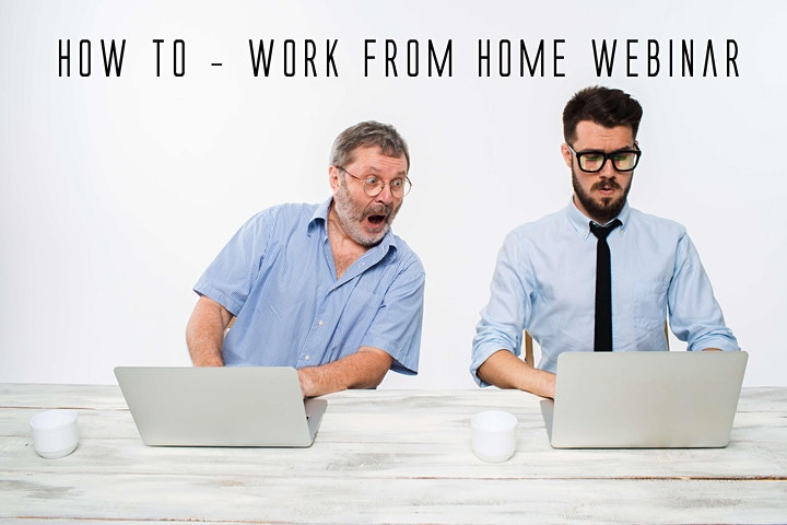 Work From Home  Webinar Opportunity image