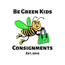 Be Green Kids Consignments RI logo