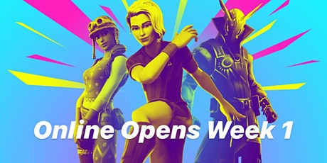 Online Opens Week 1 Qualifiers tickets