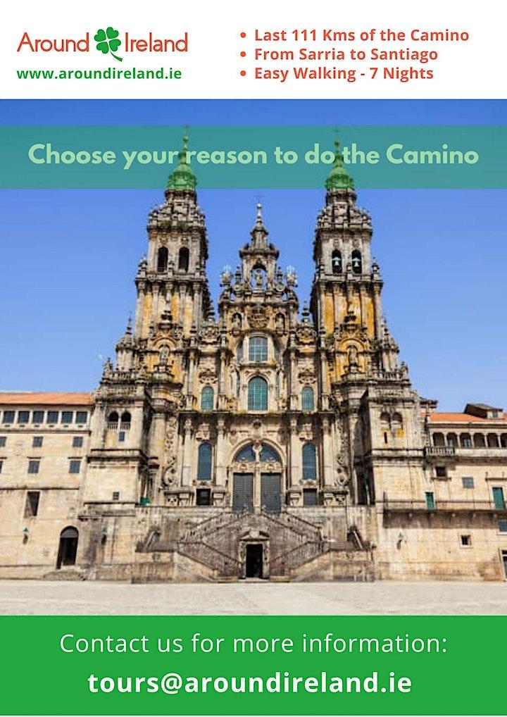 Walk the Camino de Santiago in Xacobeo Holy Year image