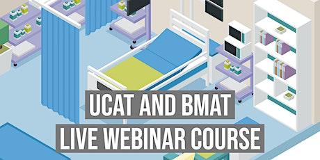 UCAT (UKCAT) Course - With Free BMAT | Blue Peanut Medical tickets
