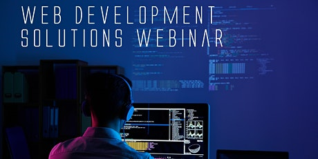 Web Development and Web Design Solutions Webinar tickets