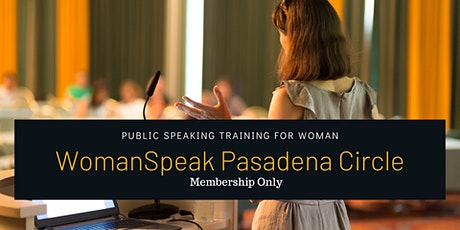 Public Speaking for Woman tickets
