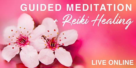 Guided Meditation with Reiki Healing | Creative Healing tickets
