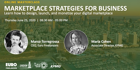 Marketplace Strategies for Business (Online Masterclass) tickets