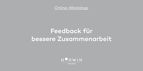 Online-Workshop: Feedback für bessere Zusammenarbeit Tickets