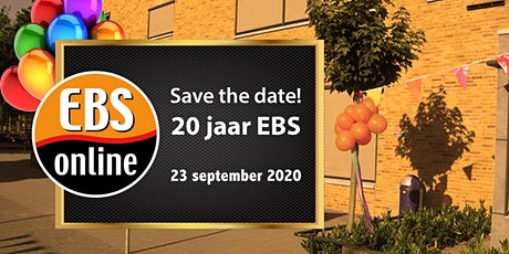 EBS Online - 20 jaar jubileumfeest met reünie tickets