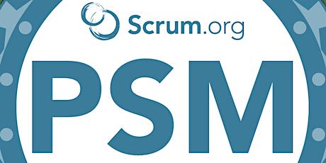 Live virtual classroom: Professional Scrum Master (PSM) tickets