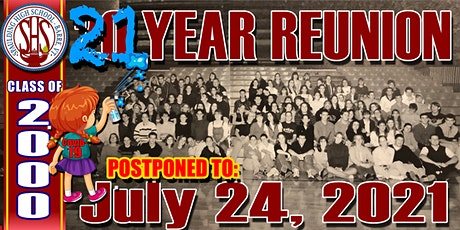 20 (well, 21) Year Reunion for the Spaulding High School Class of 2000 tickets