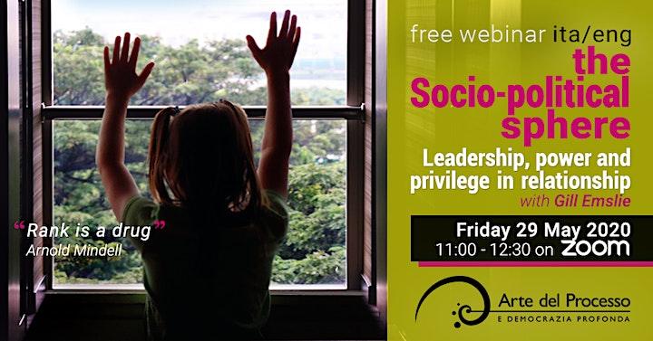 Immagine Leadership potere e privilegio nelle relazioni / the Socio-political sphere