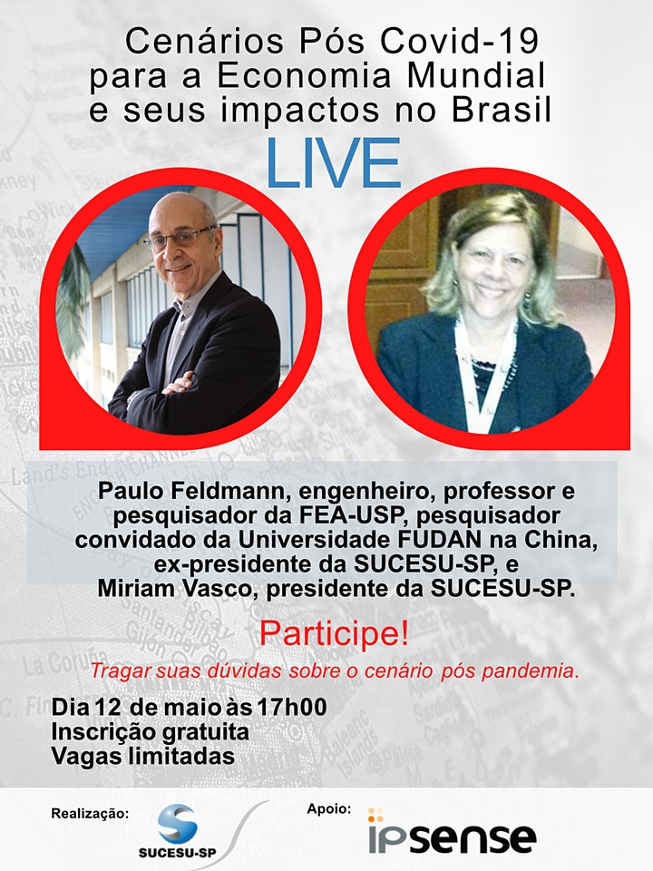 Cenários Pós  Covid-19 para a Economia Mundial e seus impactos no Brasil. image