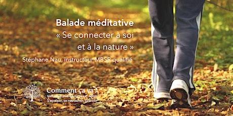 """Balade méditative """"se connecter à soi et à la nature"""" billets"""