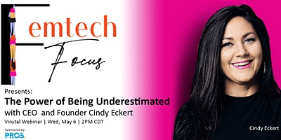 Overcoming obstacles & the power of being underestimated with Cindy Eckert