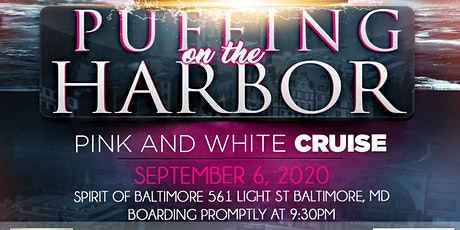 PUFFING ON THE HARBOR PINK AND WHITE CRUISE tickets