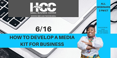 How to Develop a Media Kit for Business tickets