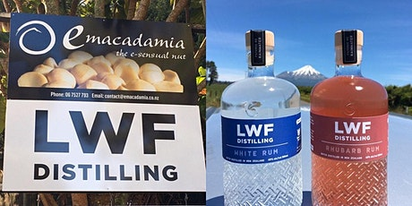 Behind the scenes LWF Distillery and Emacadamia Nut Factory tickets