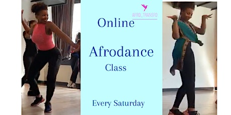 Online Afrodance class with Afro_Transfo tickets
