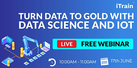 Turn Data to Gold with Data Science and IoT tickets