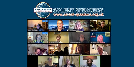 Solent Speakers Online Toastmasters Meeting tickets