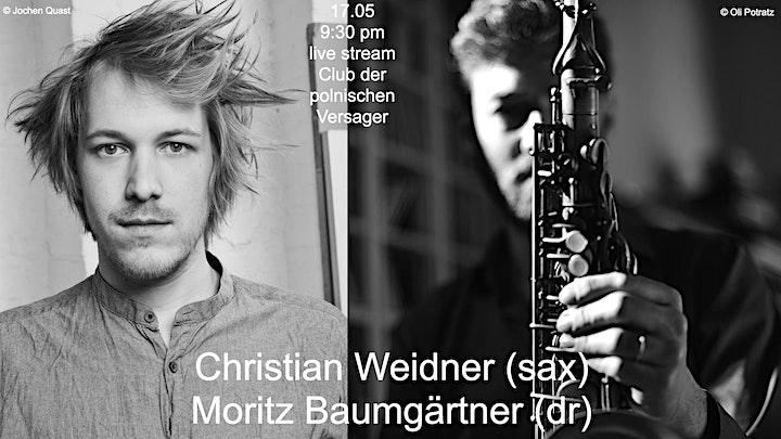 Into The Shed vol.36 feat. Christian Weidner/Moritz Baumgärtner image