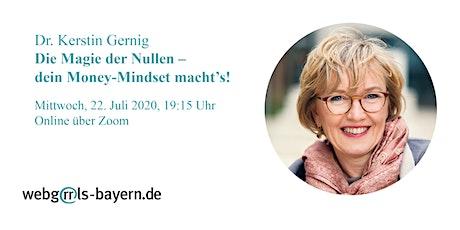 Dr. Kerstin Gernig: Die Magie der Nullen – dein Money-Mindset macht's! Tickets