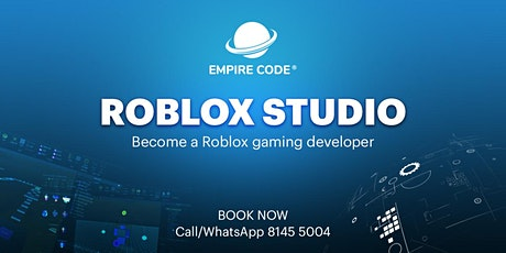 Become A Roblox Gaming Developer - For Ages 12 to 19 tickets