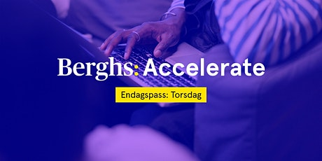 Berghs Accelerate: Innovations- och lärandeprocesser tickets