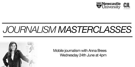 Mobile journalism withAnna Brees tickets