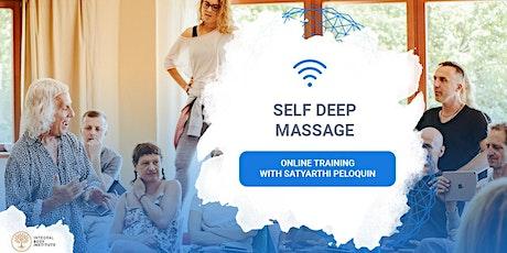 Self Deep Massage - Online Training with Satyarthi Peloquin tickets