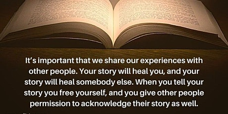 The Healing Art of Sharing YOUR Story (LIVE VIRTUAL WORKSHOP) tickets