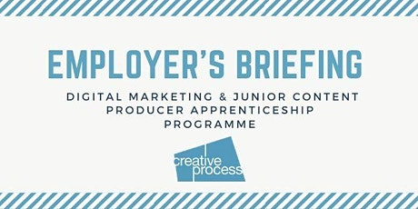 Creative Process Digital: Digital Apprenticeships Employer's Briefing Webinar tickets