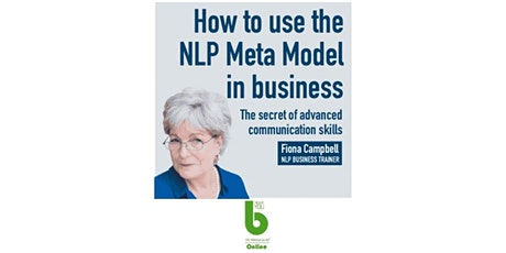 NLP Meta Model In Business-Fiona Campbell-The Best You Online-1 Month FREE