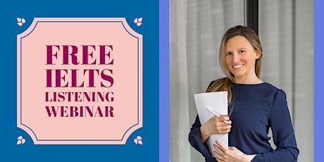 FREE IELTS LISTENING | PART 3 | PART 4 biglietti