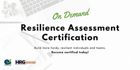 Resilience Assessment/On Demand Certification tickets